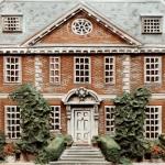 Queen Anne house portrait (detail)