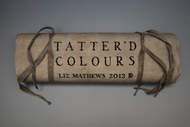 Tatter'd colours by Liz Mathews (detail of kitbag/cover)
