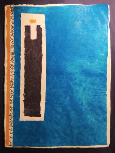 Element (text by Adrienne Rich)