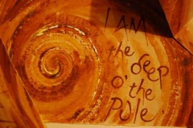 Wha I am (detail) - artist's book by Liz Mathews, text by Helen Cruickshank