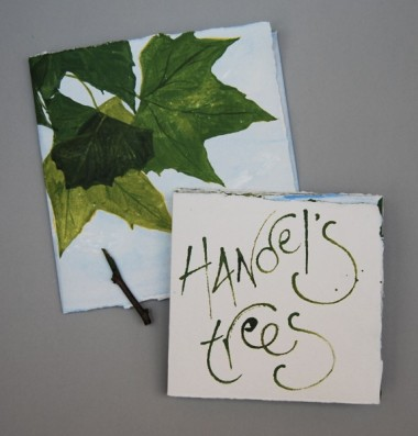 Handel's trees (front cover and slipcase)