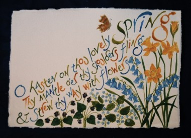 Spring from All the Year by Liz Mathews (text by John Clare)