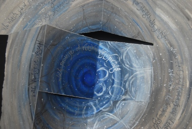 Steel solstice (detail): artist's book by Liz Mathews (text by Maureen Duffy)