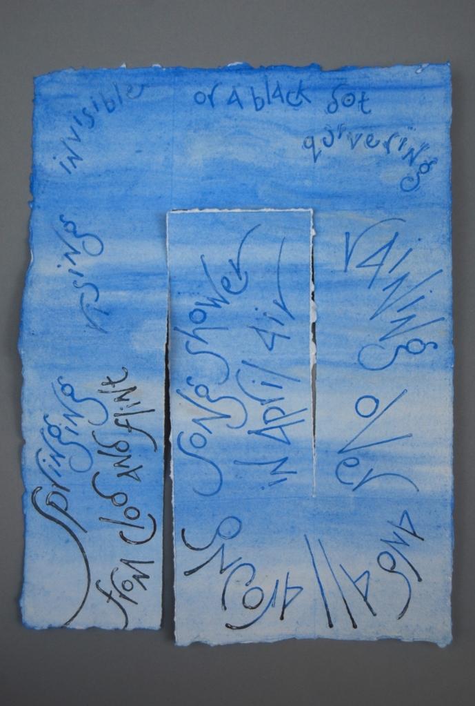 Larksong - text by Jeremy Hooker, artist's book by Liz Mathews