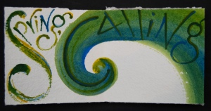 Detail from Proclaiming Spring, words by Maureen Duffy, artist's book by Liz Mathews