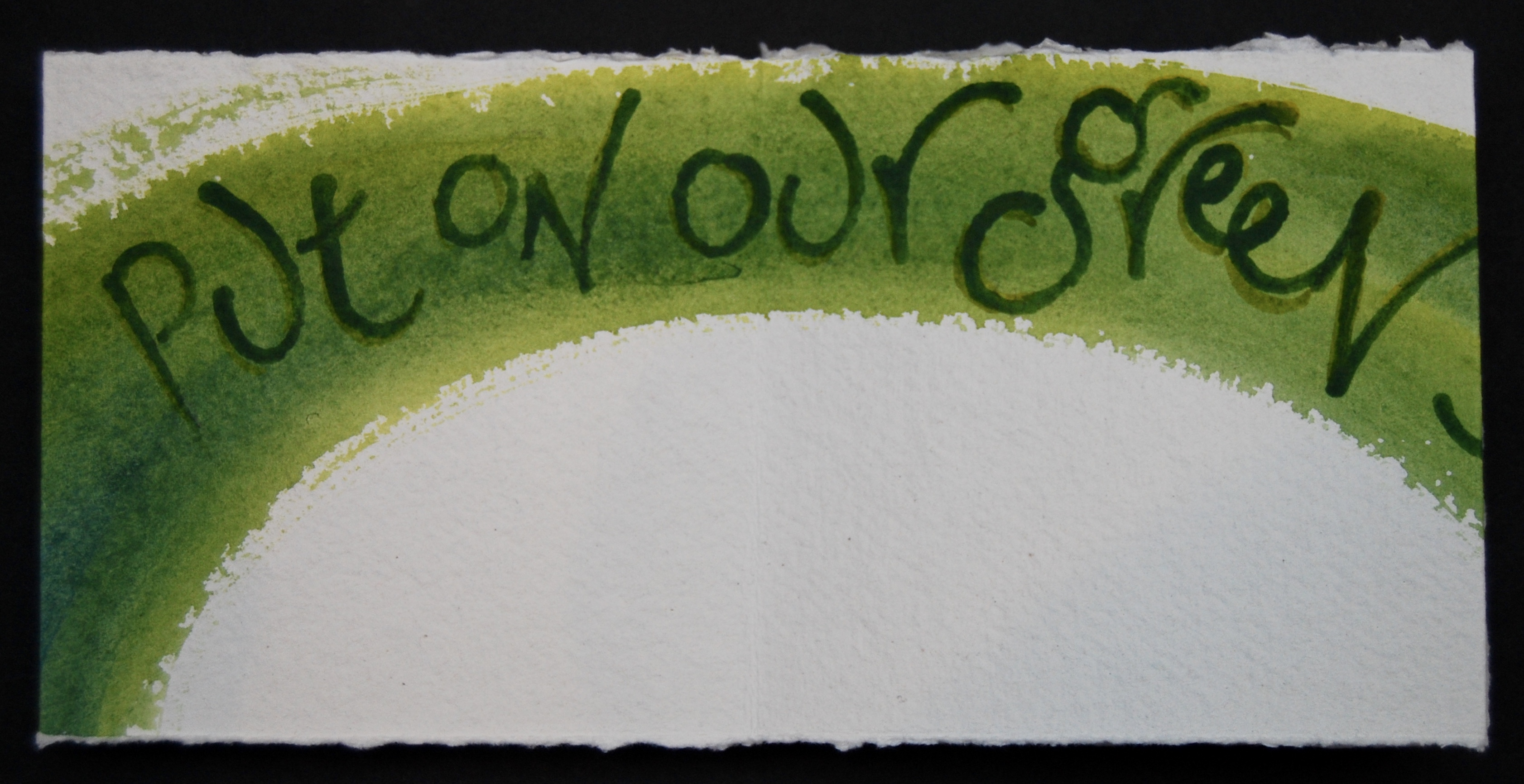 Page 3 of Proclaiming Spring, text by Maureen Duffy, artist's book by Liz Mathews