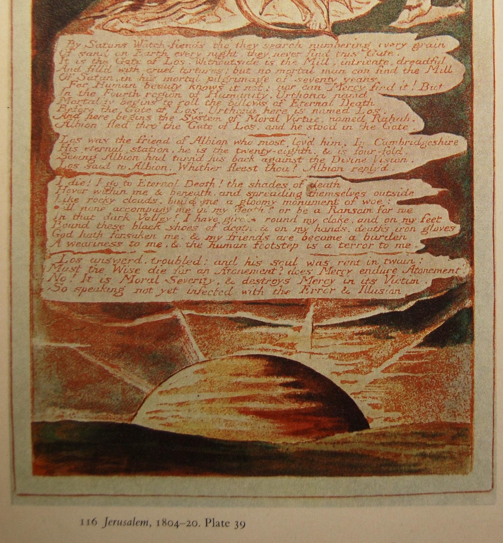 Page 160 from Kathleen Raine's William Blake (Thames & Hudson)