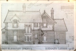2. Working drawing East front